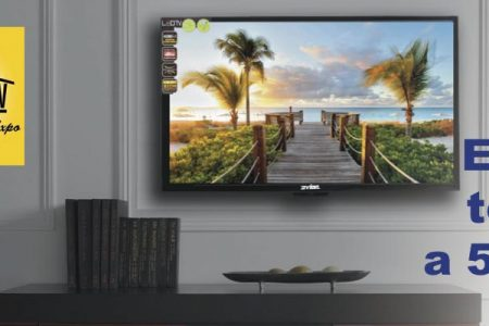 Enter to win a 50″ Smart TV